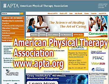 American Physical Therapy Association - home page